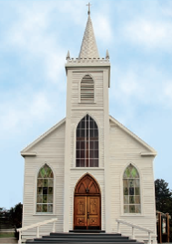 Front View of a Church - Church Insurance